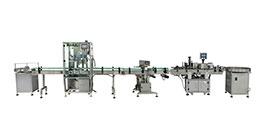 全自动双头酱料灌装生产线