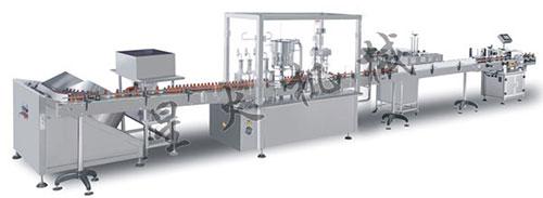 糖浆口服液灌装生产线