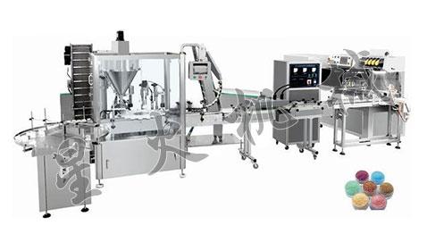 瓶装粉体灌装生产线-全自动瓶装粉体灌装生产线