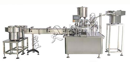 凝胶灌装生产线-全自动妇科凝胶灌装生产线