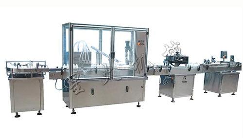 糖浆灌装生产线-全自动糖浆口服液灌装生产线