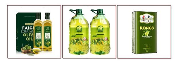 橄榄油灌装机生产线设备样品
